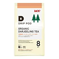 UCC ドリップポッド 有機栽培ダージリン 紅茶 8個