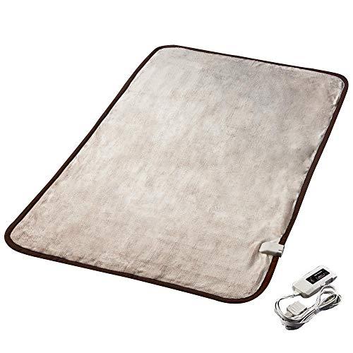 電気敷き毛布 HEAT CRACKER ヒートクラッカー 洗える 電気毛布 シングル フランネル 毛...
