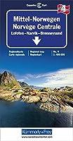 Norway Central - Lofoten / Narvik / Bronnoysund 2019 (Regional Maps - Norway)