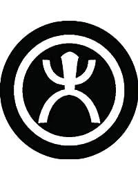 家紋シール 丸に大文字紋 布タイプ 直径40mm 6枚セット NS4-0676