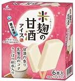 フタバ食品 米麹の甘酒アイス マルチ 6本入×8箱