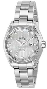 [オメガ]OMEGA 腕時計 シーマスター アクアテラ ホワイトパール文字盤 コーアクシャル自動巻 231.10.34.20.55.001 レディース 【並行輸入品】