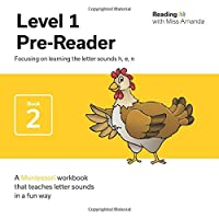 Reading with Miss Amanda Level 1: Pre-Reader: Focusing on learning the letter sounds h, e, n