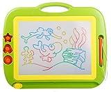 おもしろい!! カラフルお絵かきボード お子様と一緒にお遊び 楽しく学ぶお絵かきコミュニケーション(緑) [並行輸入品]