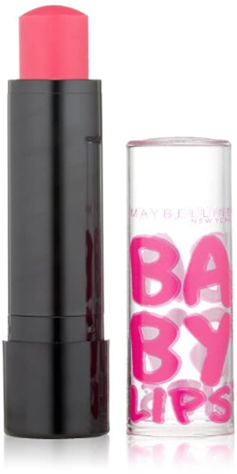 取り壊すモート胆嚢Maybelline Limited Edition Baby Lips ELECTRO (#70 Pink Shock) (並行輸入品)