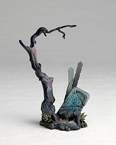 タケヤ式自在置物 ゲゲゲの鬼太郎立体絵巻 鬼太郎 全高約95mm PVC&ABC製 塗装済み 可動フィギュア