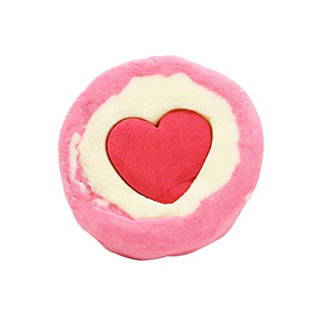 SODIAL ハート型 入浴ボール ドライ?フラワー バブル ソルトバスボール ホームスパギフトボックス付き、異なる香り、すべての肌が使用可能