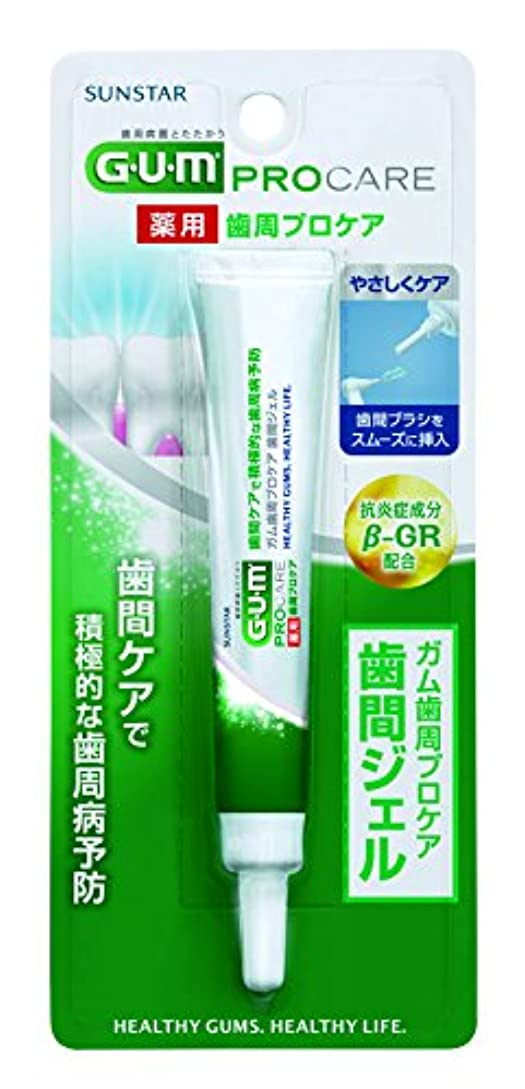平手打ち思慮のない緑[医薬部外品] GUM(ガム) 歯周プロケア 歯間ケアジェル (歯間ブラシ用) 13ML <歯周病予防ジェル>