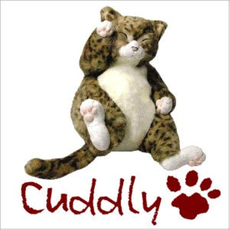 <Cuddly>カドリー こだわりのぬいぐるみ とら猫のヌイグルミ ピンカートン(Pinkerton)