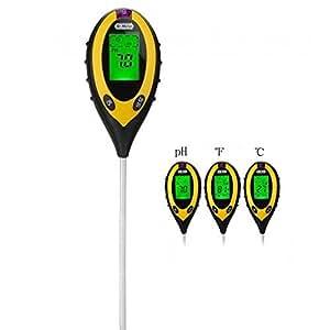 Dr.Meter 土壌測定器 多機能 土壌酸度計 照度計 水分計 温度計 ph測定 農業 室内 屋外 S20