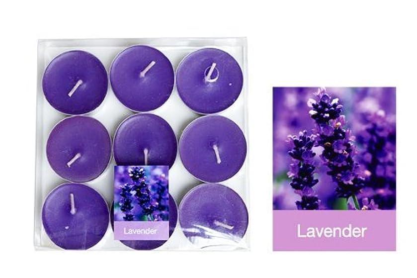 終わり報奨金小道具Thai Spa Candle , Relaxed Aroma Candle Lavender Smell with Aluminium Grommet Holder Thai Product by Tarad Siam...