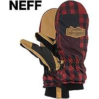 Neff Dynamite Mitt Red Plaid S mitten ミトン 並行輸入品