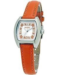 d80c855384 [フォリフォリ]Folli Follie 腕時計 F1185L-SOO オレンジ 革ベルト 時計 レディース [