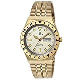 [TIMEX] 腕時計 Q Timex TW2V18700 メンズ ゴールド