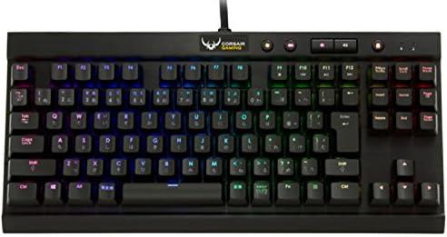 CORSAIRコルセア GAMING ゲーミングキーボード K65 RGB MX Red 日本語91配列 CH-9000072-JP/A (K65 RGB Compact)
