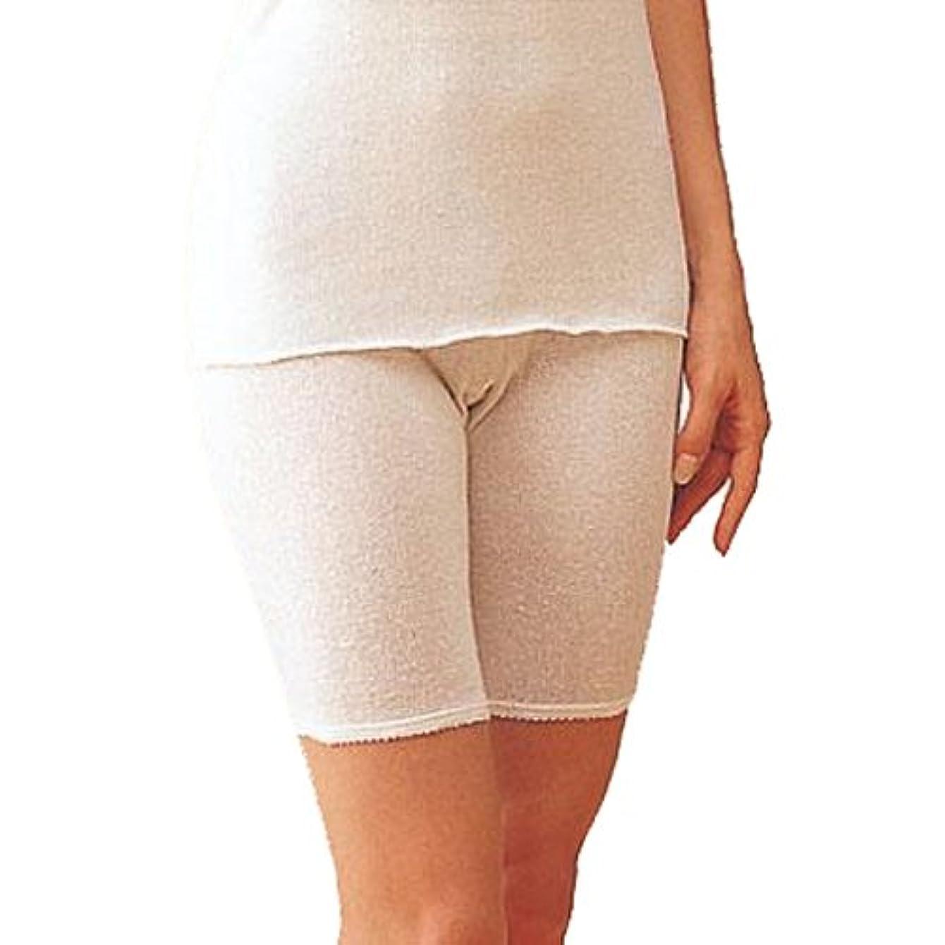 壮大なゲスト抵当コベス シルクノイル婦人5分丈パンツ L×2枚 ST716 ピンク
