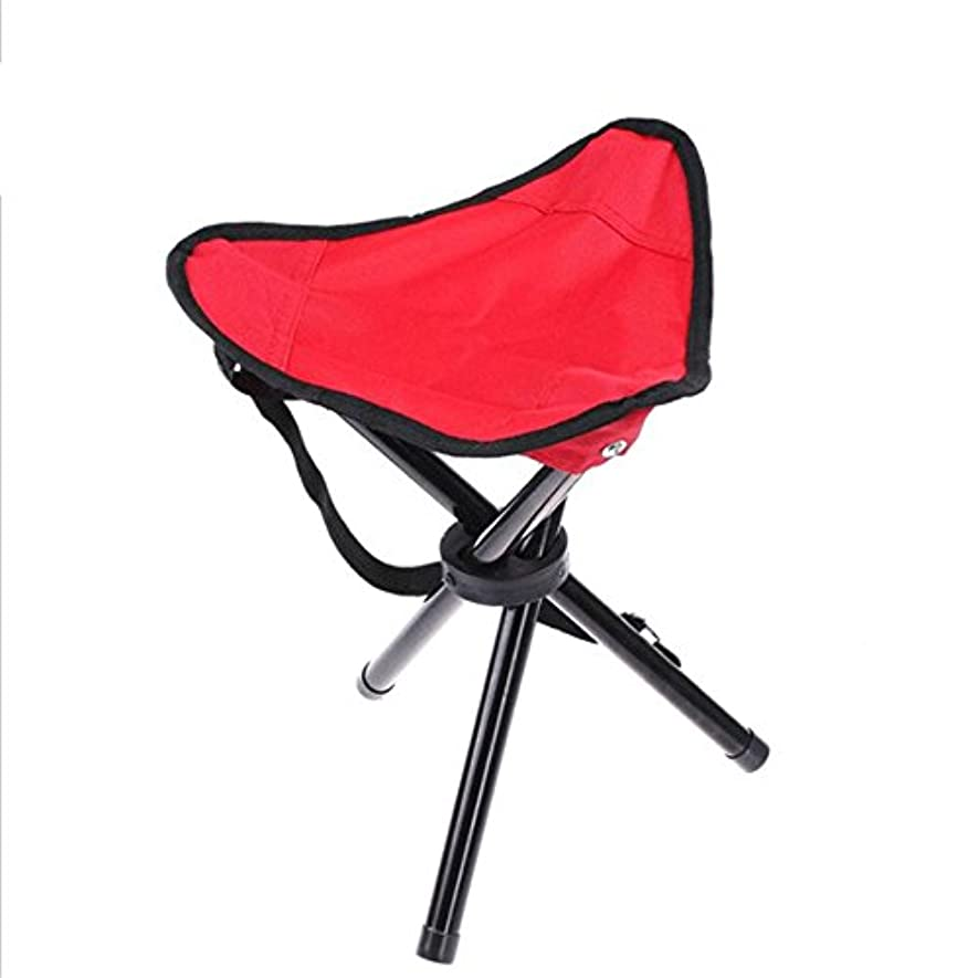 連合手つかずの輝く折りたたみ椅子 屋外ポータブル折りたたみスツール釣りスツール3足のスツールスツールスツール