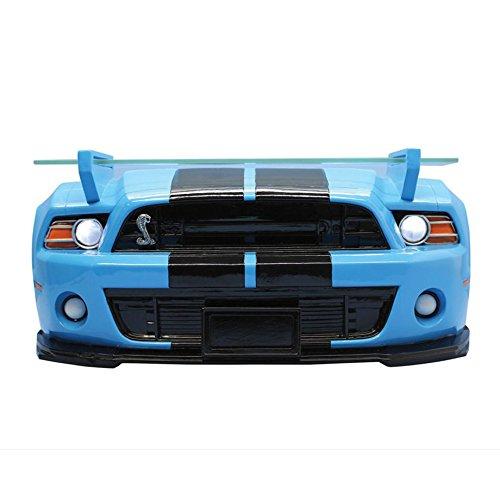 壁掛けシェルフ 2013 シェルビー マスタング GT500 ブルー/ブラック ライト付