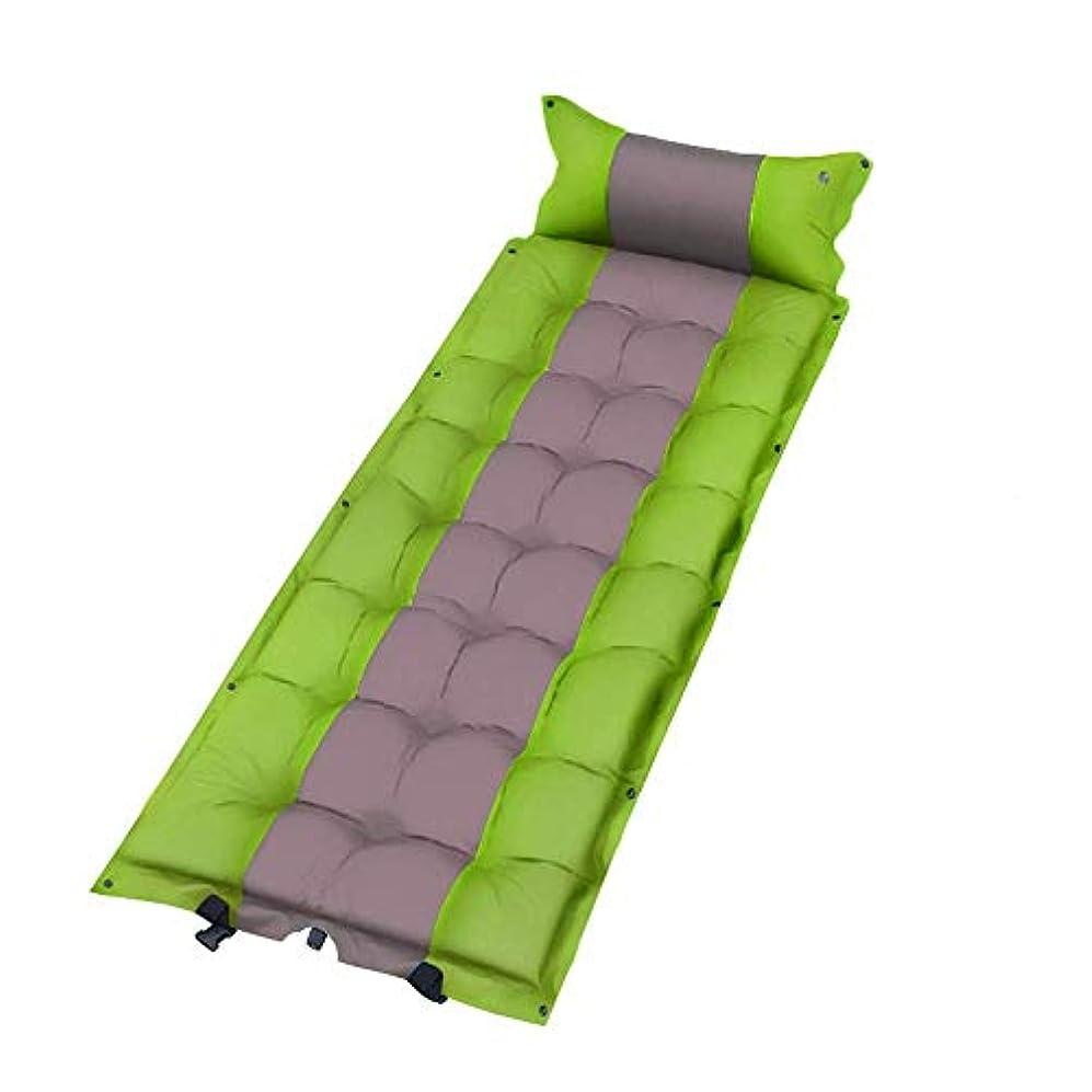 ポータブル睡眠パッドビーチピクニックテントウェットエアクッション屋外シングルベッド寝袋,3