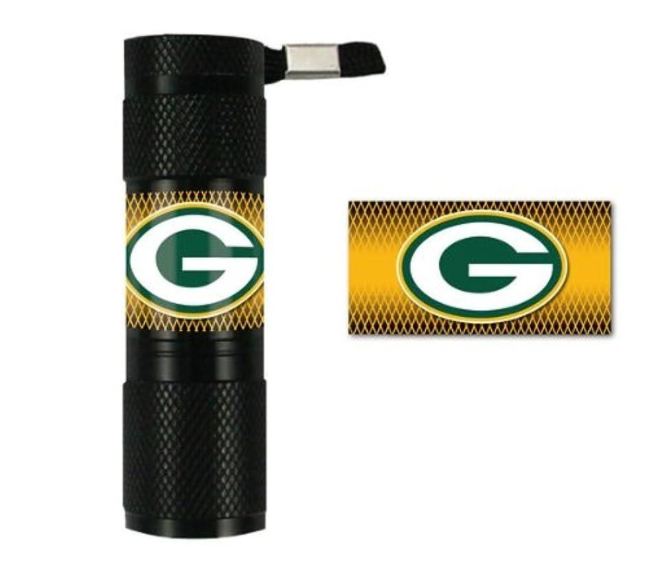 グリース民間しばしばCaseys Distribution 8162054412 Packers de Green Bay LED Flashlight