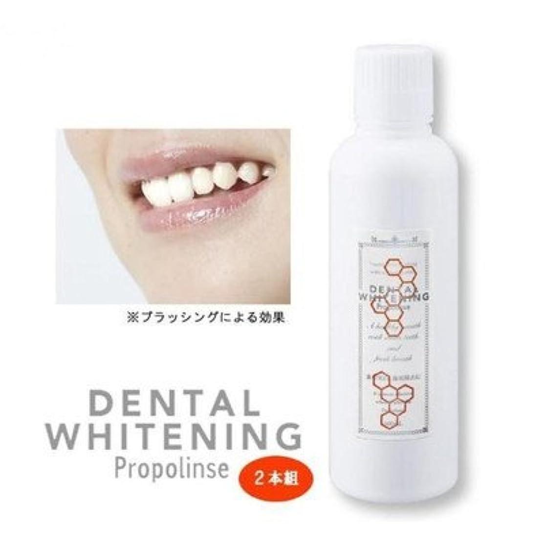 鎮痛剤含む遺産プロポリンス デンタルホワイトニング 600ml×2本