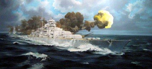 1/200 ドイツ海軍 戦艦 ビスマルク