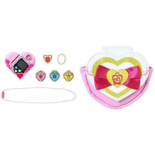 [해외]변신 터치 폰 뿌리하토 DX + 프리 하트 캐리 세트/Makeover Touchphone Pre Heart DX + Pre Heart Carry Set