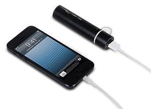 (国内正規品)MiPow(マイポー)Power Tube  2600M MicroUSBコネクタ内蔵(au NTTドコモ ソフトバンク等の各種スマートフォンに対応) バッテリー容量:2600mAh スマートフォン約1回分充電 (SP2600M-BK(4562187616093))