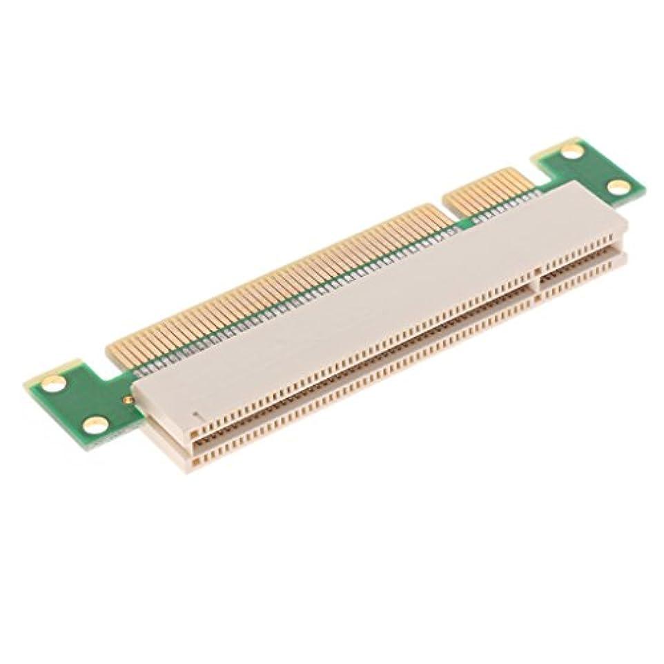 入り口悲劇的な書誌Homyl PCI  オス→メス アダプタ カード 32ビット 垂直カード  PCI 拡張アダプタ