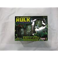 Toy Site Marvel Comics Babooshkah Hand Decorated the Incredible Hulk Nesting Dolls by Toy Site [並行輸入品]