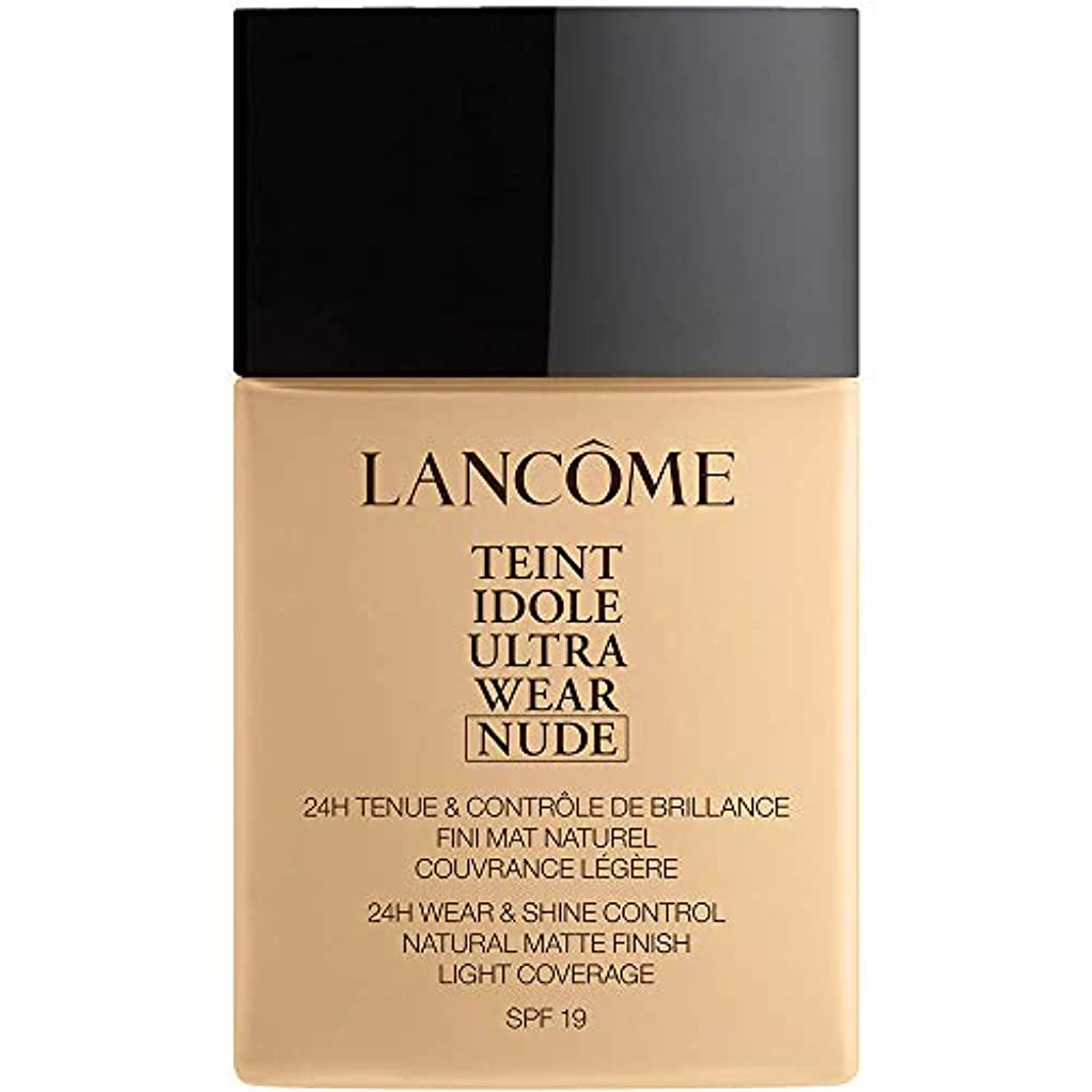 台風絶滅させる破壊的なランコム Teint Idole Ultra Wear Nude Foundation SPF19 - # 010 Beige Porcelaine 40ml/1.3oz並行輸入品
