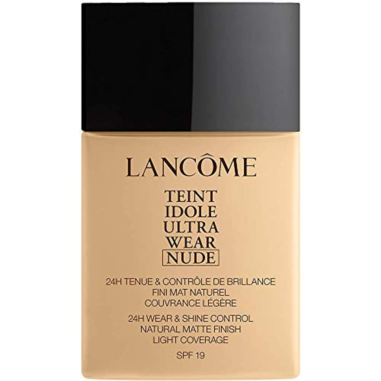 に対応するエンジン読者ランコム Teint Idole Ultra Wear Nude Foundation SPF19 - # 010 Beige Porcelaine 40ml/1.3oz並行輸入品