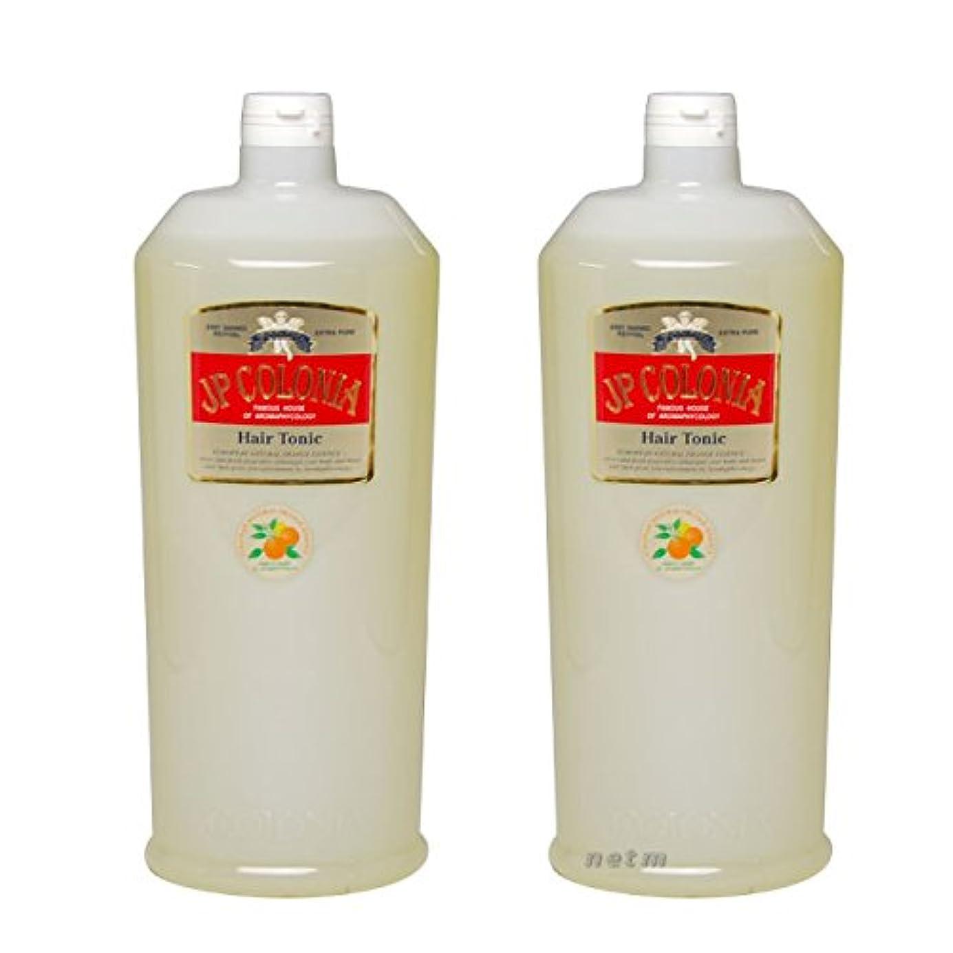 り図水を飲む【2本セット】 JPコロニア ヘアトニックEX 1000ml 業務用
