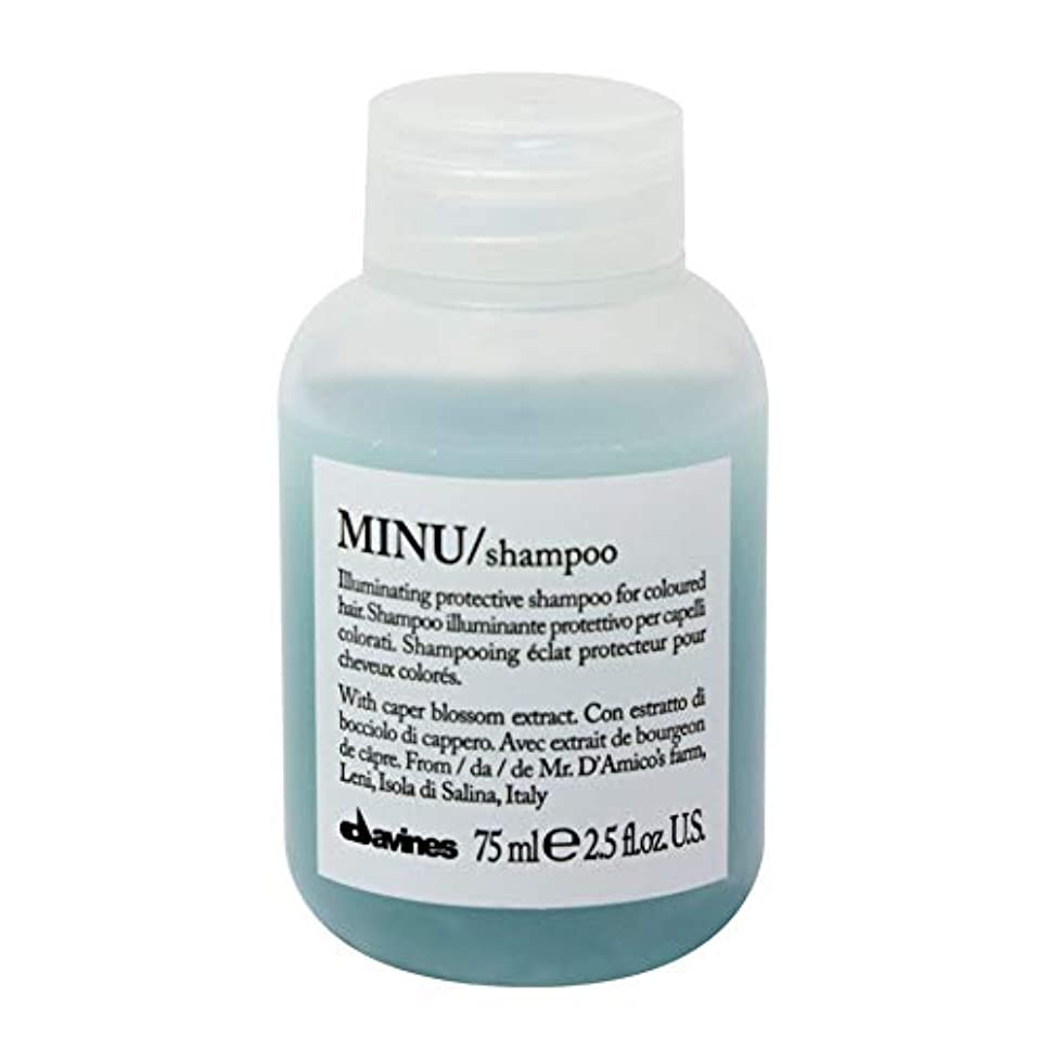 認可冗談でアレンジ[Davines ] ダヴィネスぬシャンプー75ミリリットル - Davines Minu Shampoo 75ml [並行輸入品]