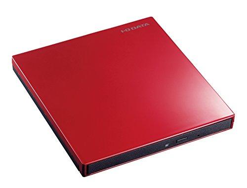I-O-DATA ポータブルブルーレイドライブ BRP-UT6CR(ルビーレッド/USB Type-C対応/1年保証)