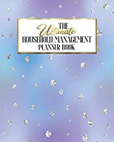 The Ultimate Household Management Planner Book: Rainbow Sparkle Faux   Home Tracker   Family Record   Calendar   Contacts   Password   School   Medical Dental Babysitter   Goals Financial Budget Expense