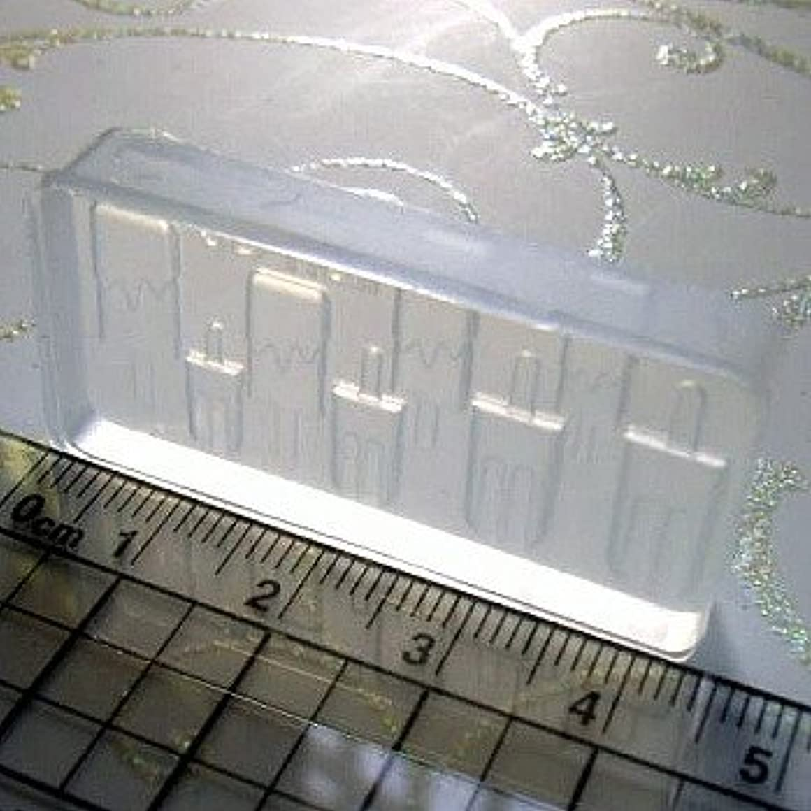 クロニクル複数レタス3Dシリコンモールド 自分でできる3Dネイル ネイルアート3D シリコン型 アクリルパウダーやジェルで簡単に!