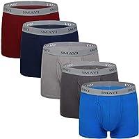 5Mayi Mens Boxer Briefs Comfort Men's Underwear Men Pack Mens Underwear S M L XL XXL