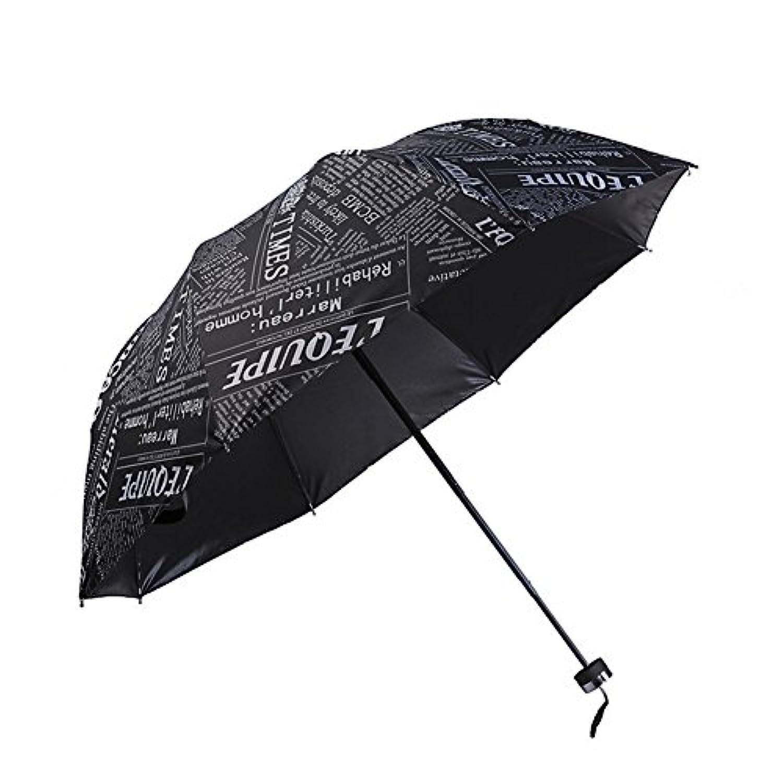 折りたたみ傘 レディース かわいい柄 折り畳み傘 日傘 車用傘 高強度グラスファイバー 8本骨 UPF50+ UVカット 軽量 耐風撥水 晴雨兼用 レディース 旅行 アウトドア用 収納ポーチ付 男女兼用 (A)
