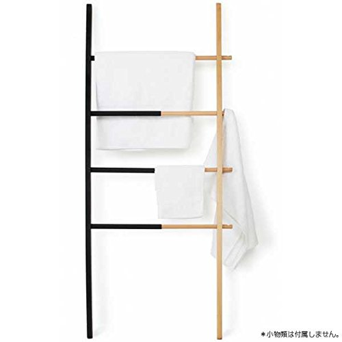 RoomClip商品情報 - アンブラ umbra ハブ ラダー ブラック / ナチュラル 2320260-045