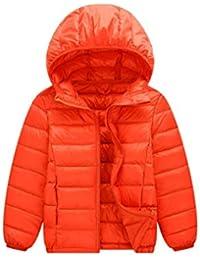 4b008d78fdc6f 子供ダウンジャケット キッズ 軽量 秋冬 女の子 男の子 フード付き ダウンコート ...