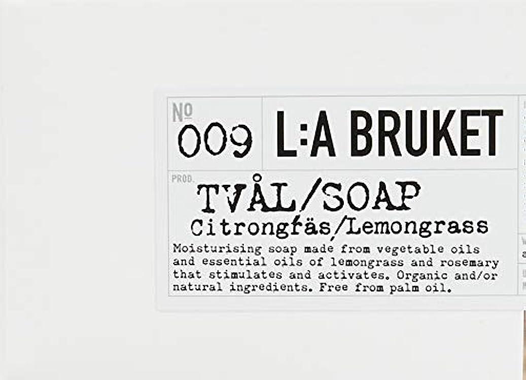 電卓全員十一L:a Bruket (ラ ブルケット) ロープソープ (レモングラス) 240g