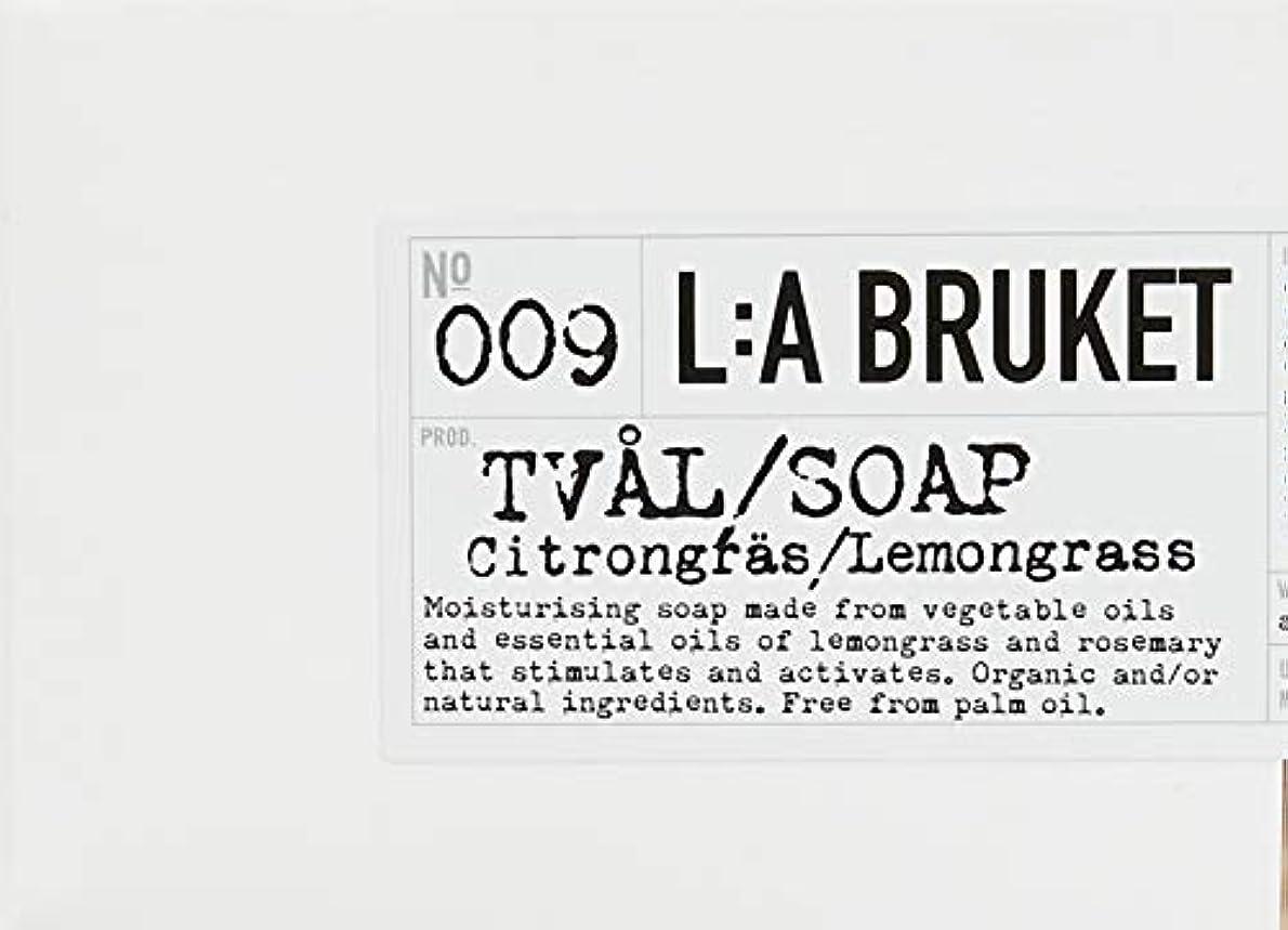 政令チューリップ濃度L:a Bruket (ラ ブルケット) ロープソープ (レモングラス) 240g