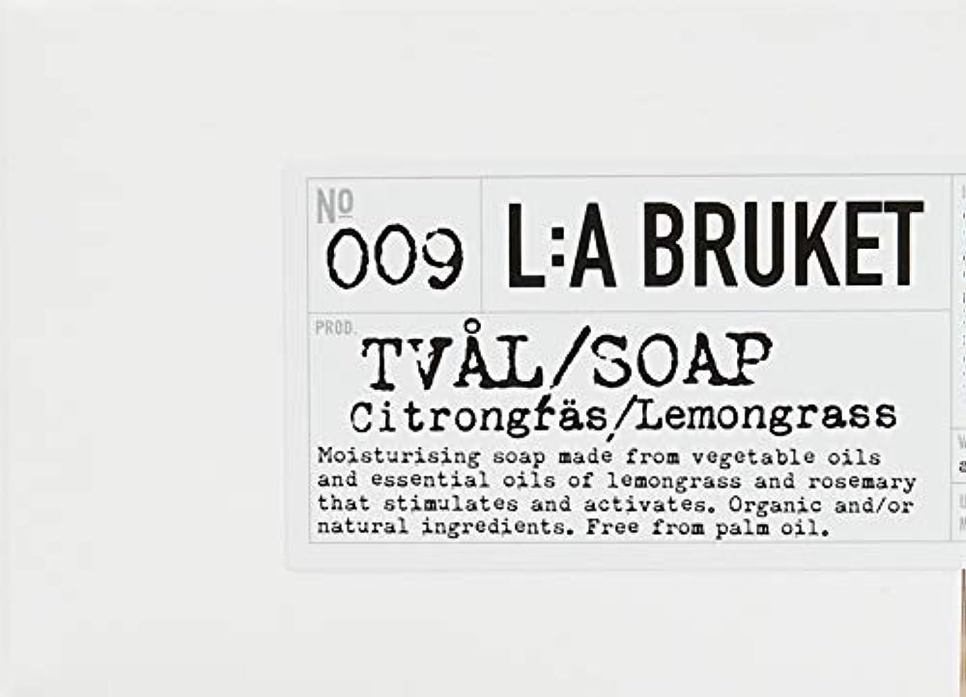ビジネス厳密に脱走L:a Bruket (ラ ブルケット) ロープソープ (レモングラス) 240g