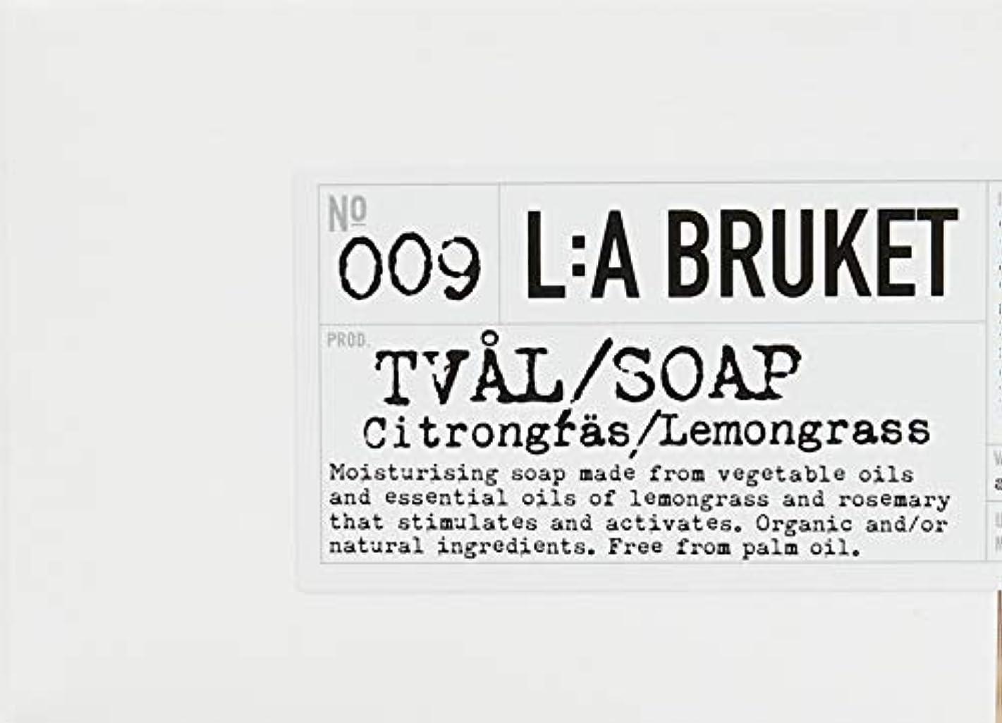 怒る集団的カウントアップL:a Bruket (ラ ブルケット) ロープソープ (レモングラス) 240g
