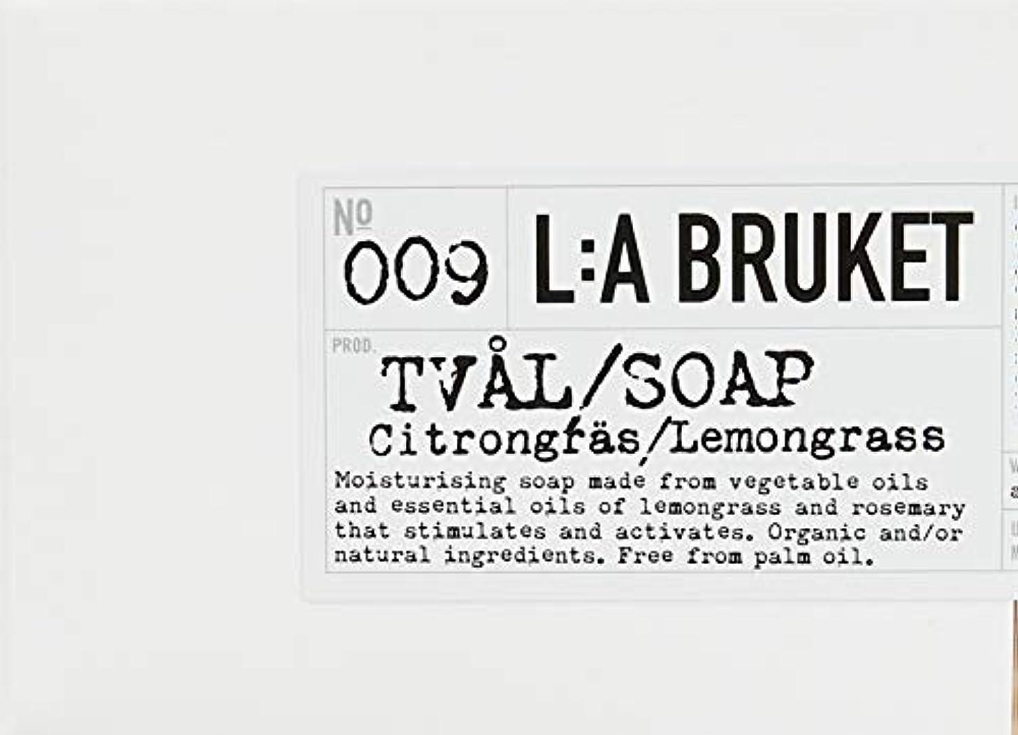 ホバート赤面月面L:a Bruket (ラ ブルケット) ロープソープ (レモングラス) 240g