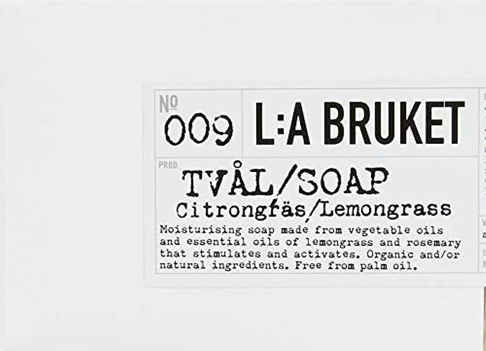 タイルばかげた民間L:a Bruket (ラ ブルケット) ロープソープ (レモングラス) 240g