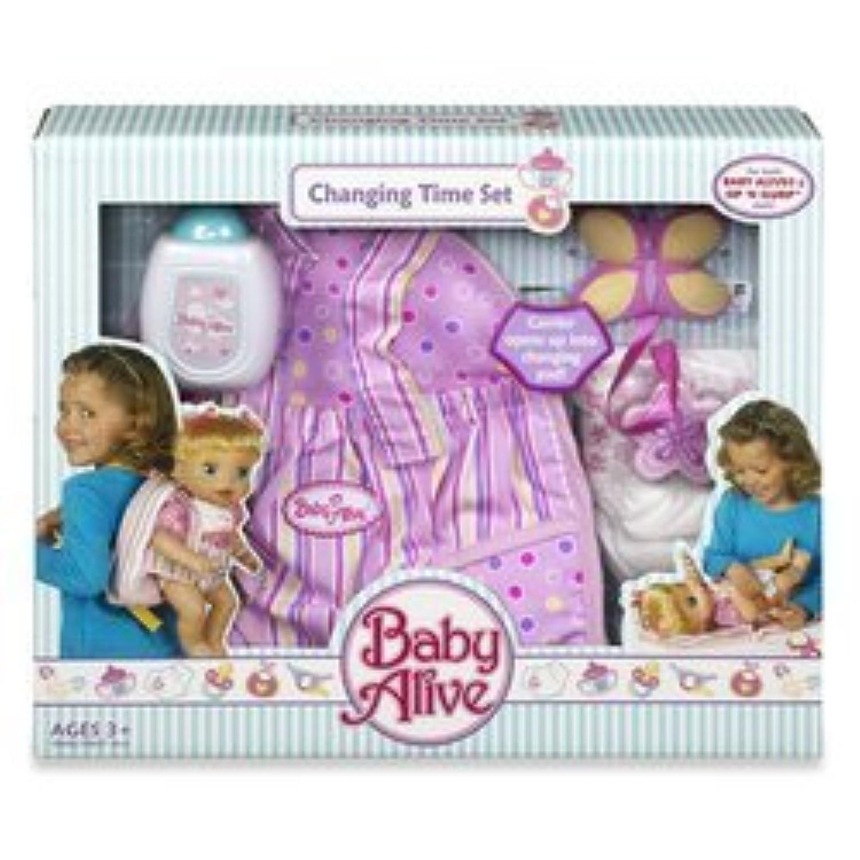 輸入ベビーアライブ赤ちゃんおままごと Hasbro Child Baby Alive Changing Time Set [並行輸入品]