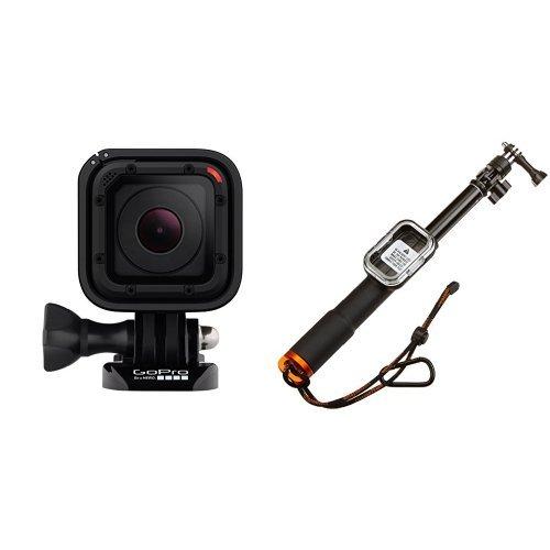 【国内正規品】 GoPro ウェアラブルカメラ HERO Session CHDHS-102-JP+ Amazonベーシック GoPro用 伸縮ポール WiFiリモートハウジング付き LS-300