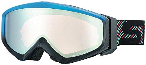 SWANS(スワンズ) ゴーグル 眼鏡使用可 スキー スノーボード 偏光 ミラー ゲスト GUEST-MPDH BLBK ブルー×ブラック